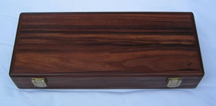 Flute case made by Matt McCullough